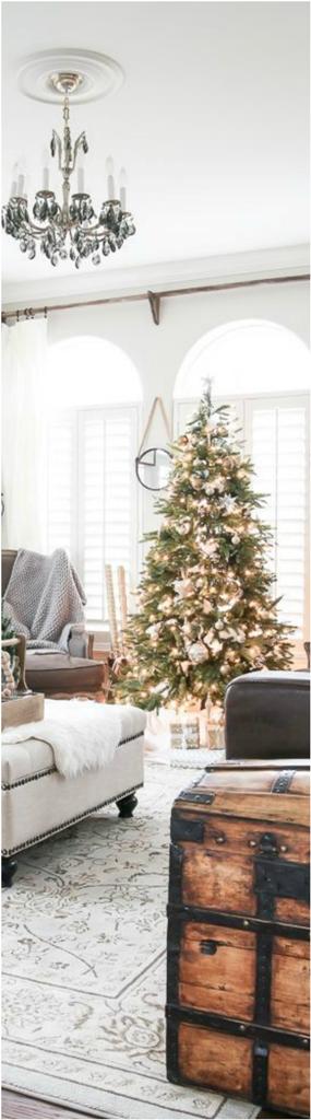 Christmas Living Room Decor Ideas thewowdecor (2)
