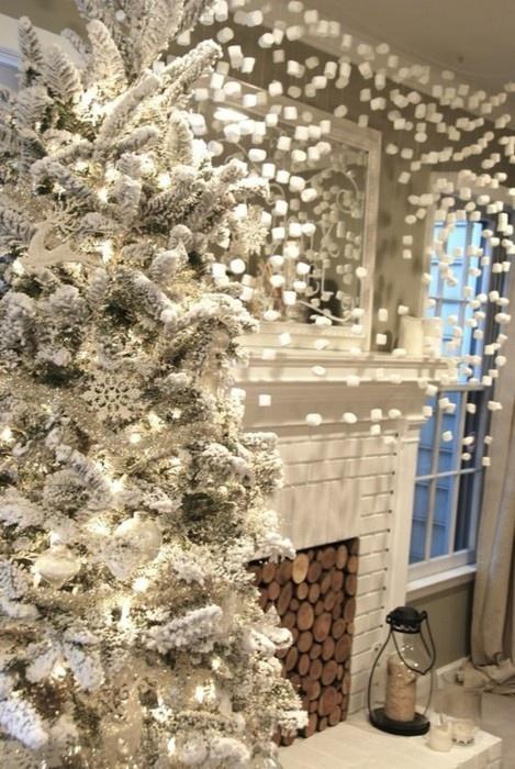 Christmas Living Room Decor Ideas thewowdecor (31)