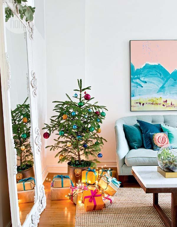 Christmas Living Room Decor Ideas thewowdecor (7)