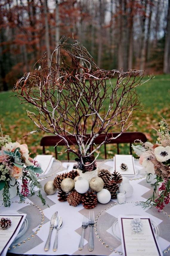 Christmas Table Centerpiece Ideas thewowdecor (35)