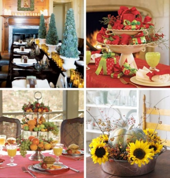 Christmas Table Centerpiece Ideas thewowdecor (7)