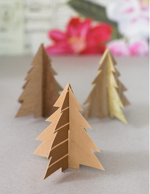 DIY Rustic Wood Christmas Decorations