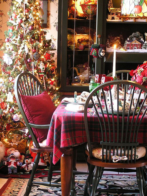 Kitchen Christmas Tree Decorations