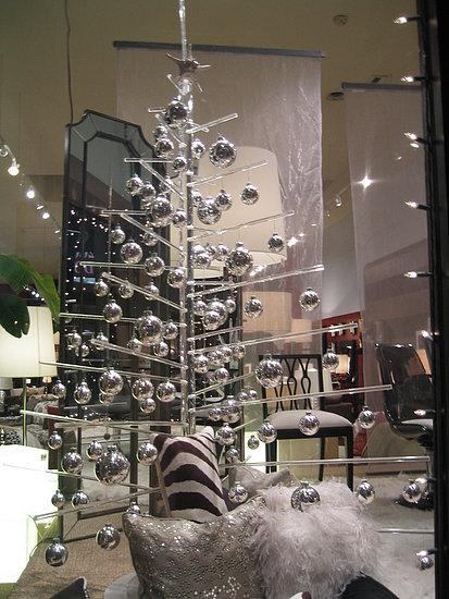 Modern White Christmas Tree