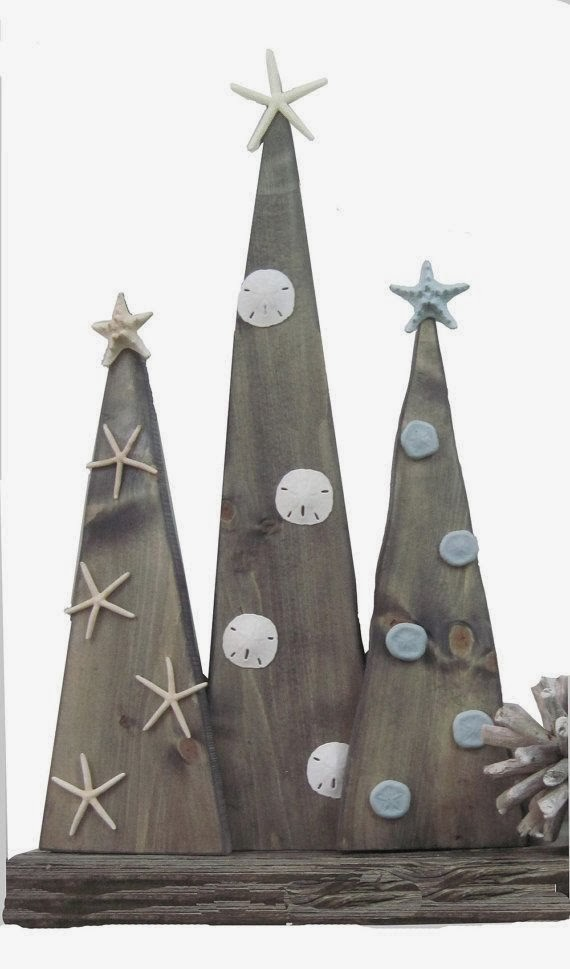 Wooden Christmas Tree Decoration Ideas