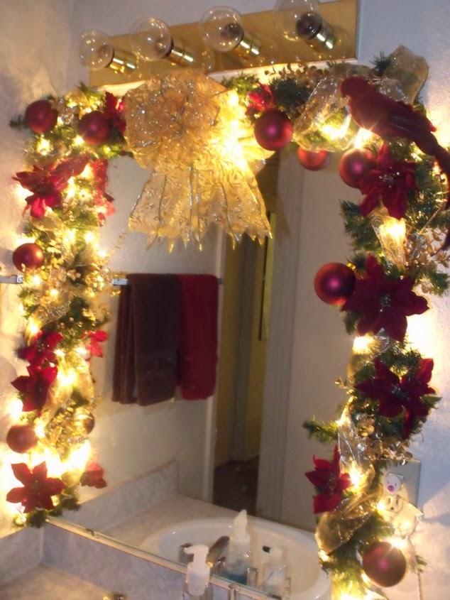 Bathroom Christmas Decoration