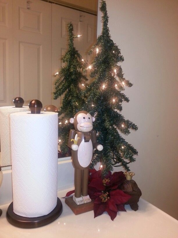 Bathroom Design Christmas Decoration