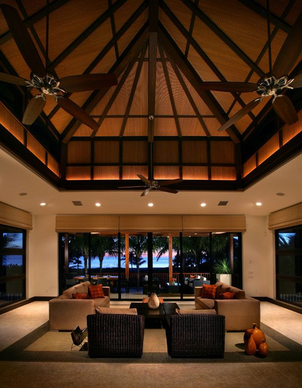 Dramatic Pitched High Ceiling Thewowdecor