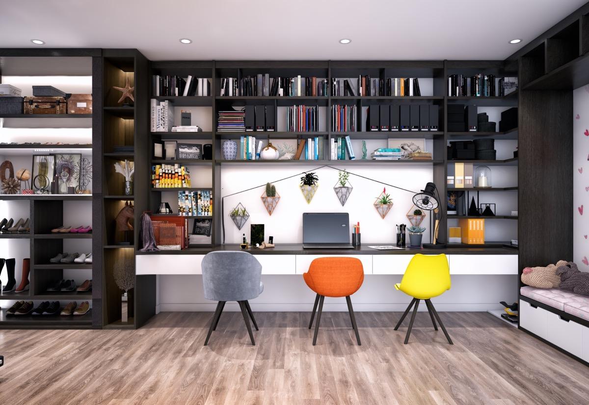 Modern Home Office thewowdecor (14)