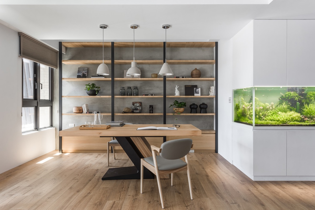 Modern Home Office thewowdecor (18)