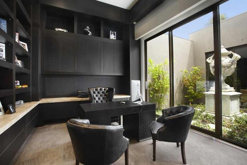 Modern Home Office thewowdecor (23)