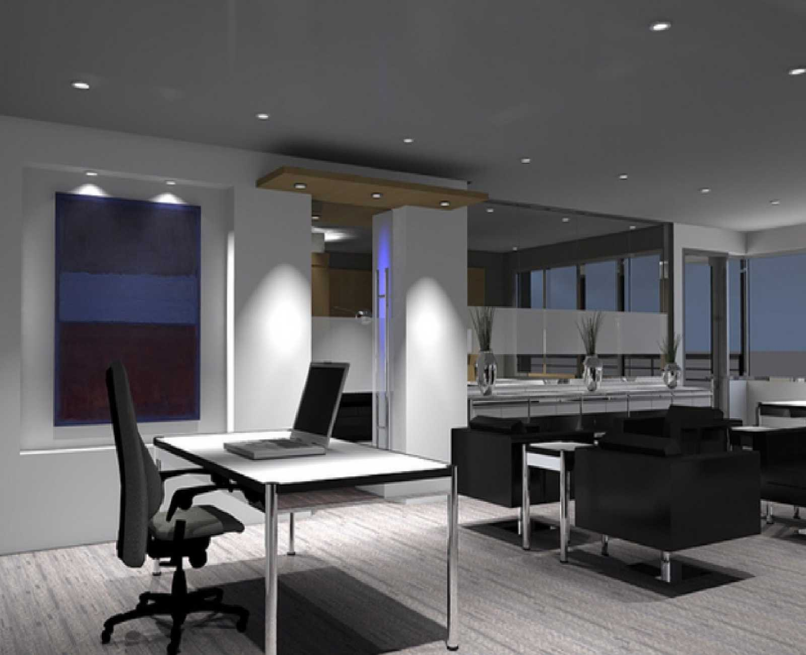 Modern Home Office thewowdecor (28)