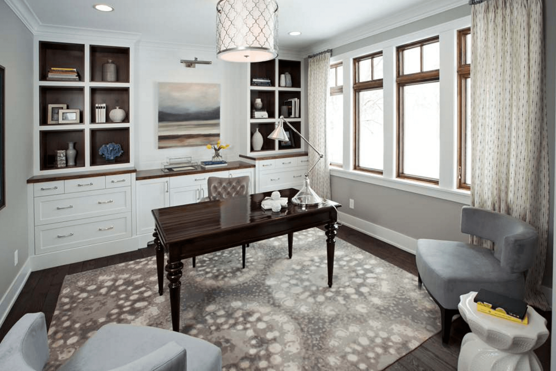 Modern Home Office thewowdecor (5)