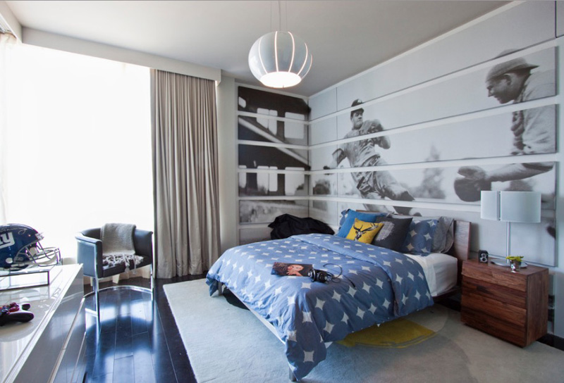 Sports Enthusiastic Bedroom