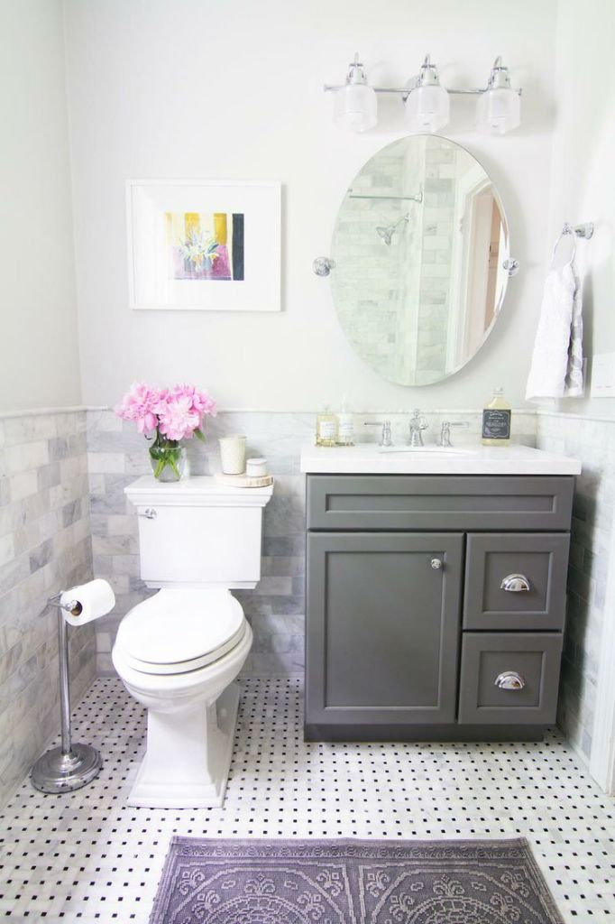 feminine-lavender-powder-room