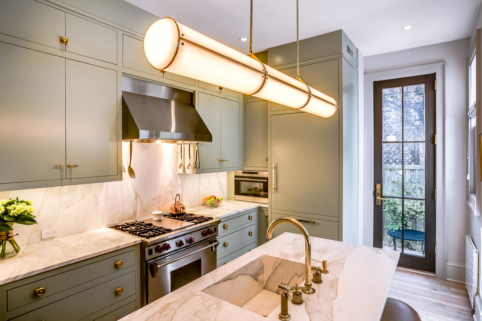 Kitchen with Quartzite Countertops Ideas