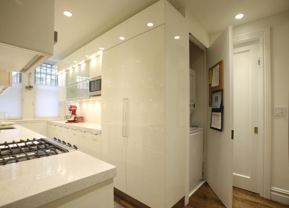 Modern Kitchen With Terrazzo Countertops