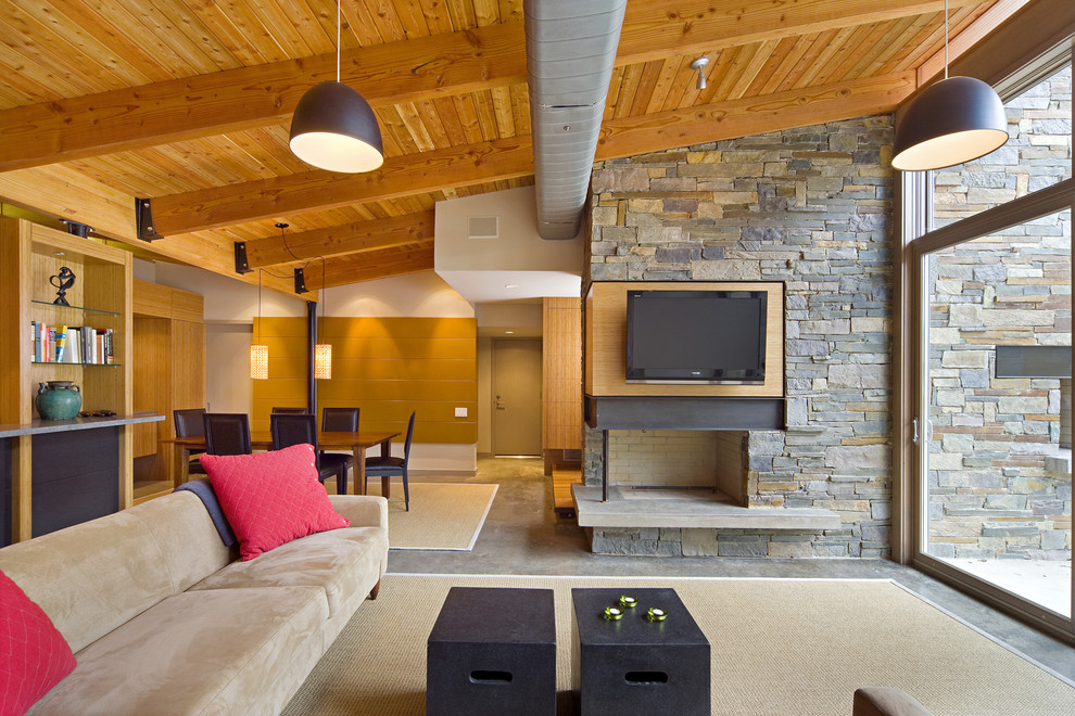 contemporary-living-room-hvac