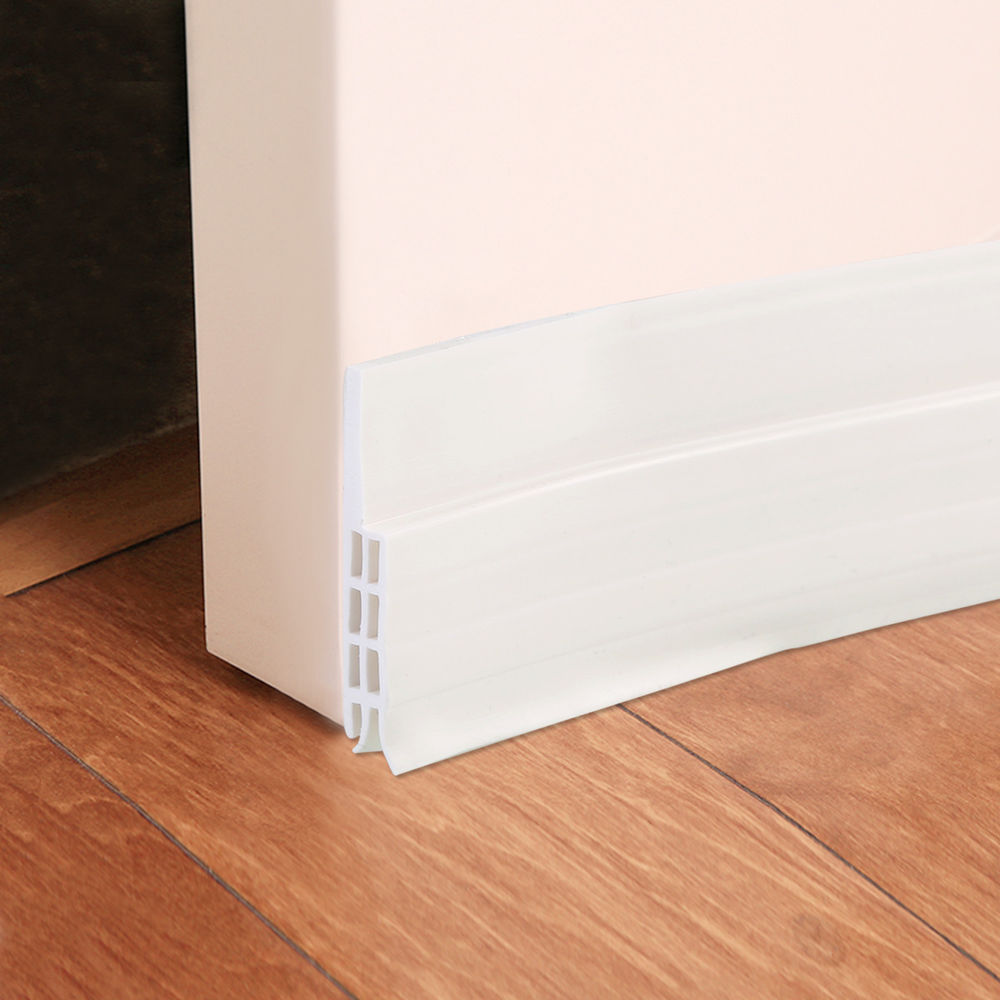 Use door seals and draft guards