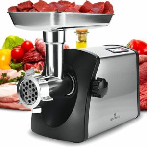 How to Stuff Calligine Sausage with Manual Meat Grinder