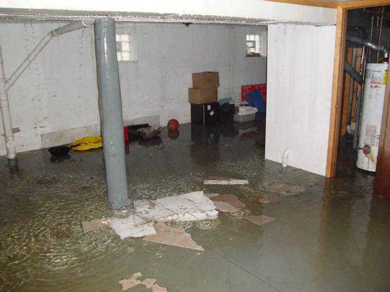 Have water in your basement