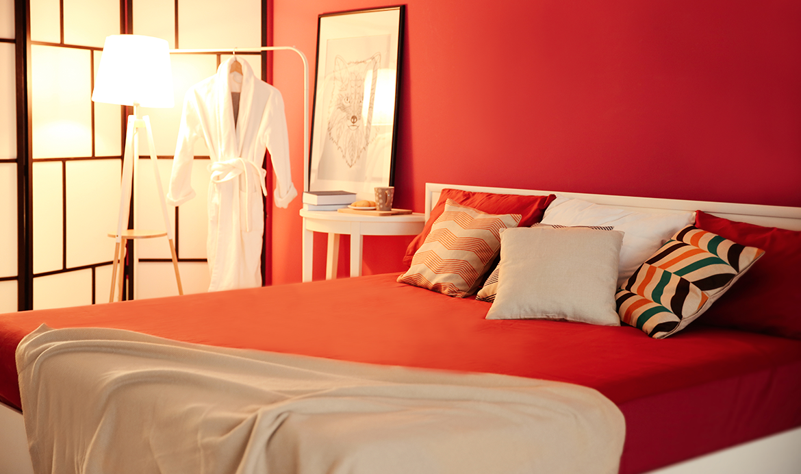 Give your bedroom a new breath of life