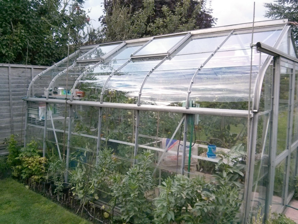Cut Your Greenhouse Plastic
