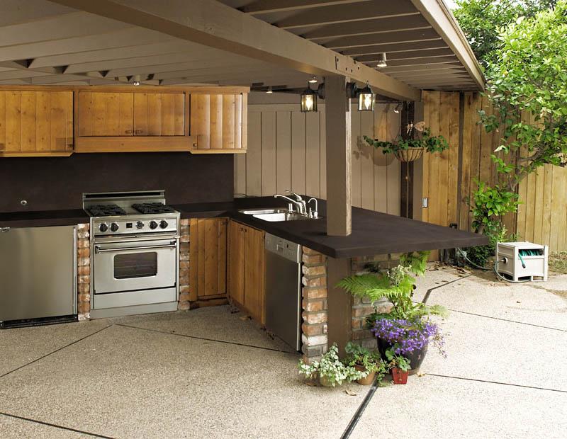 Indoor and outdoor countertops