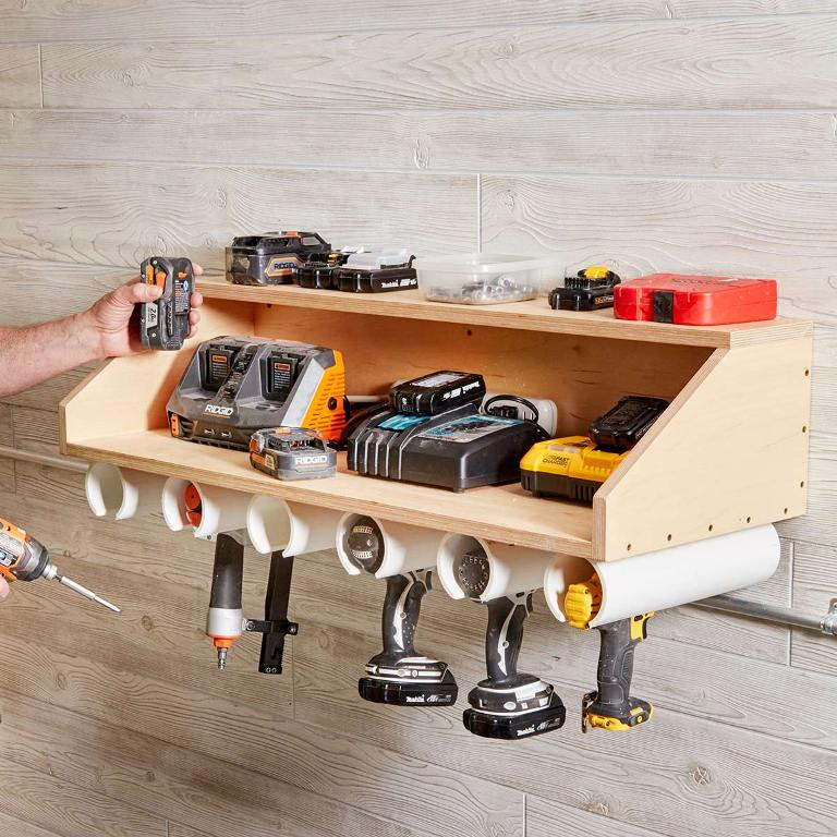 Panpipe Tool Storage for Slender Tools