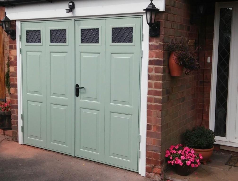 Side-Hinged Garage Doors