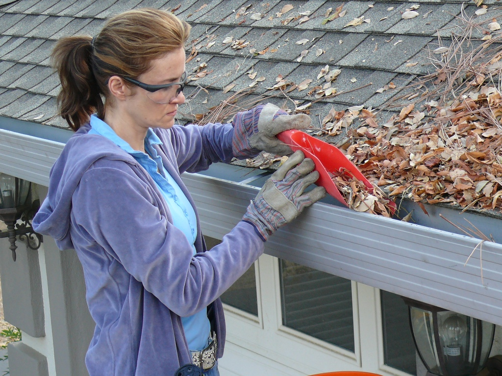What is the best way to clean my gutters