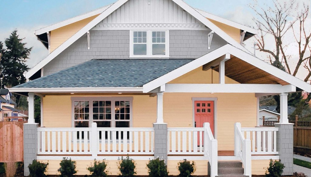 Homes-Colorful Exteriors