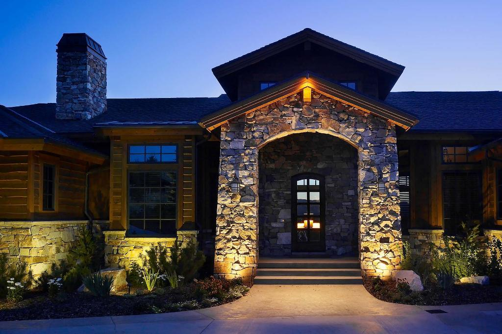 Install security lighting