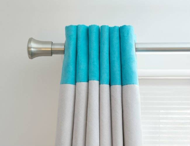 Mount your drapes over the window frames