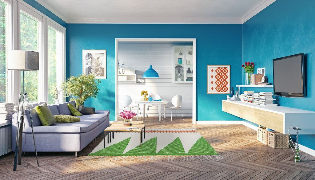 Look for Color Inspiration at Home and Online