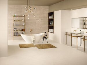 Porcelain Stoneware Floor Tiles and Bathroom Tiles