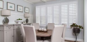 Plantation Shutters are the Right Window Treatment for Arched Windows!