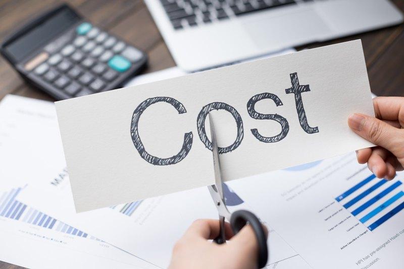 Costs lesser