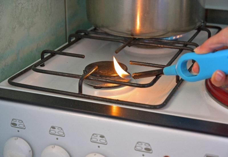 Ignite the stove