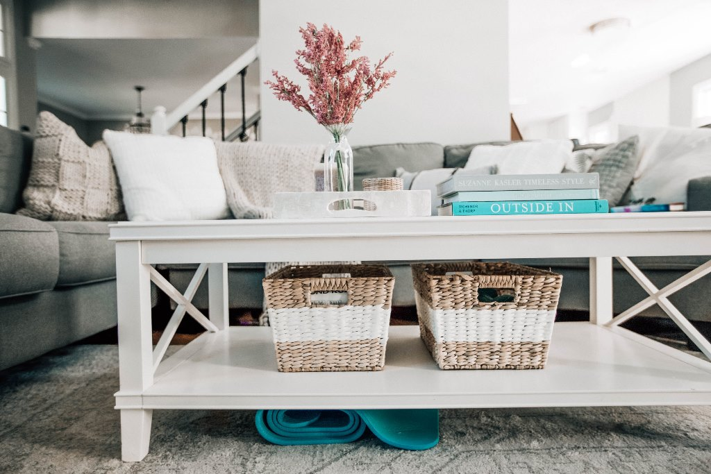 Use Baskets To Organize