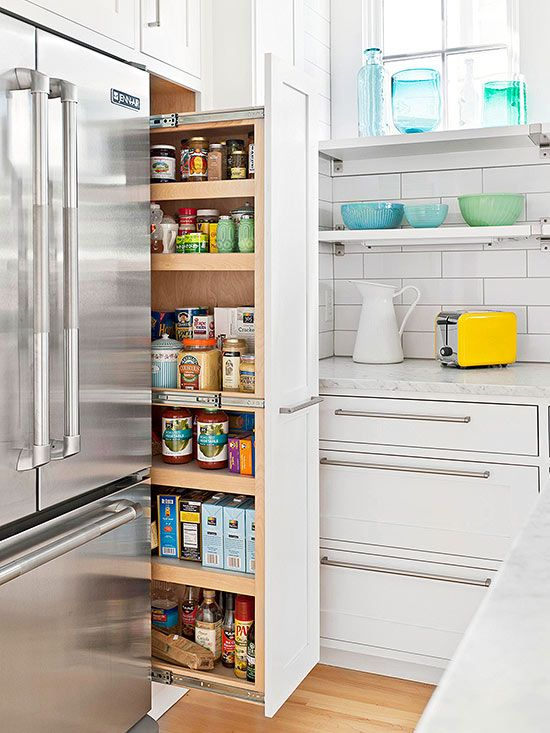 Gap Slide-Out Pantry