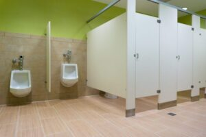 Toilet Partitions Los Angeles: Choosing HDPE Plastic