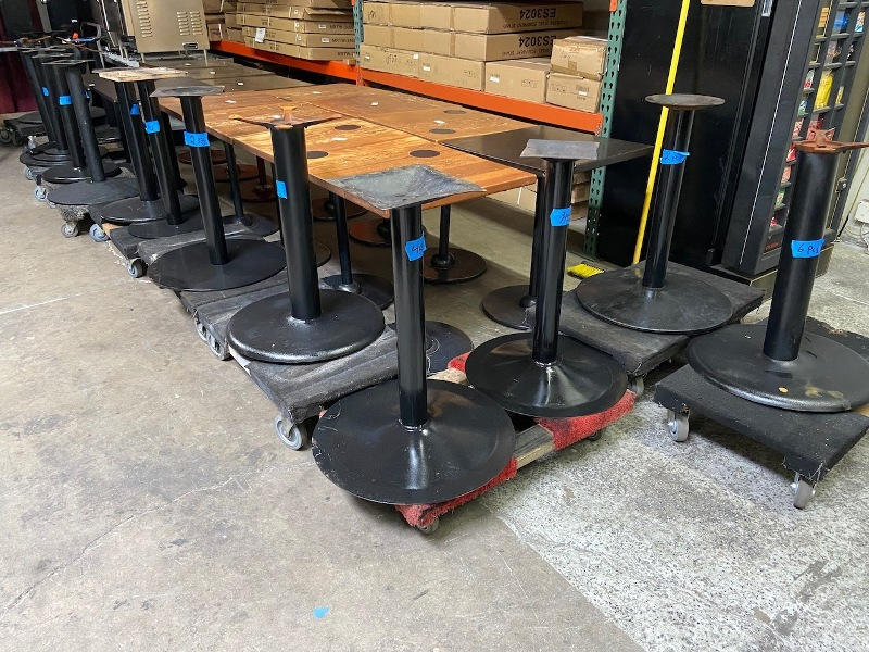 Weight of an Ideal Table Base