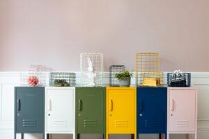 Stylish Storage Lockers | Mustard Made