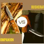 Mora Companion vs Mora Bushcraft