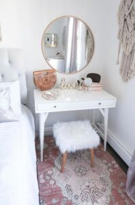 Best Makeup Vanity Table for Small Space