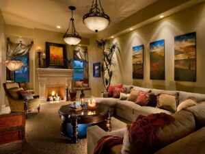 Living Room Lighting Decor Ideas