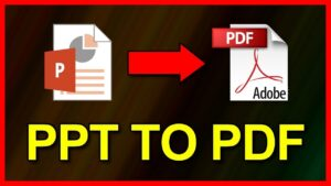 A Streamlined Online Alternative In Converting PPT to PDF with PDFBear