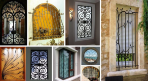 Attract Your Guest With These Eye-Catching Window Grill Design