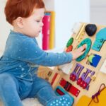 How to decorate kid's room – Busy boards for toddlers